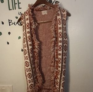 100% Vintage Orlan Acrylic Sleeveless Sweater